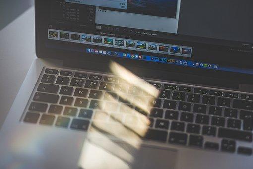 Macbook, Laptop, Computer, Browse, Research, School
