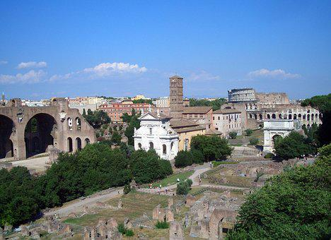 Rome, Forum, Excavation, Italy, Antiquity, Romans