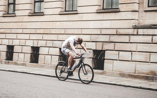People, Man, Guy, Bicycle, Road, Street, Walls