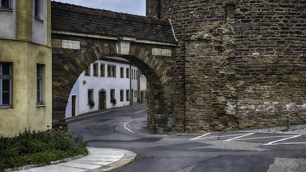 City Wall, Tower, Streets, Historically, Architecture