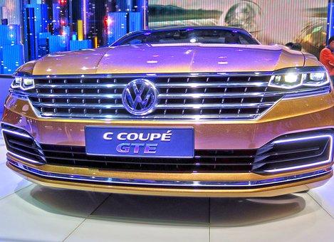 Vw, Volkswagen, C Coupe Gte, Concept Car, Prototype