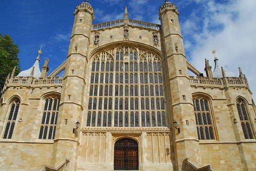 Windsor Castle, St Georges, Medieval, Historic, Castle
