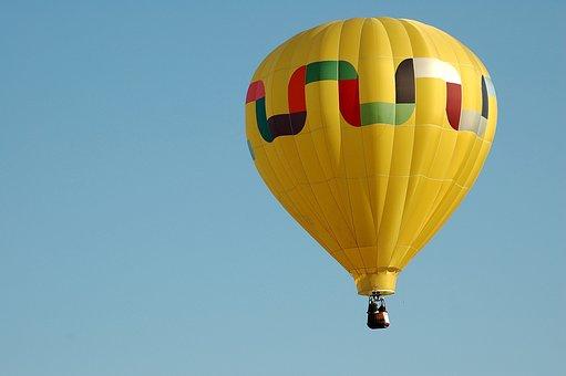 Hot Air Balloon, Flight, Air, Balloon, Sky, Colorful