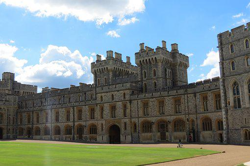 Windsor, Castle, Queen, Royal, Uk
