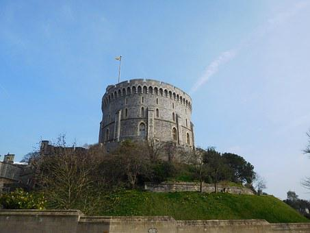 Windsor, Castle, England, Uk, Royal, Architecture