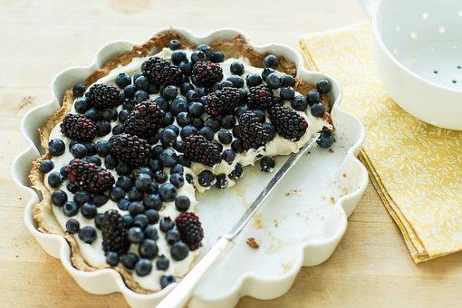 Food, Gourmet, Eat, Delicious, Berries, Healthy, Tarts
