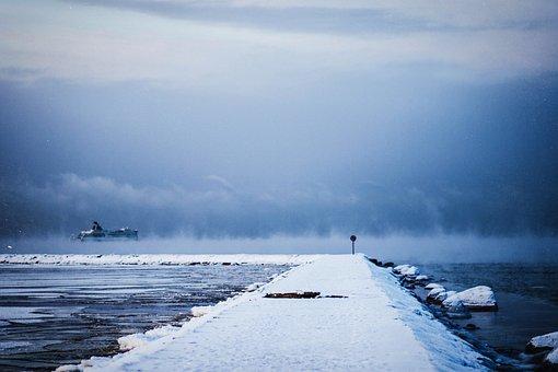 Nature, Landscape, Roads, Paths, Blanket, Snow, Ice