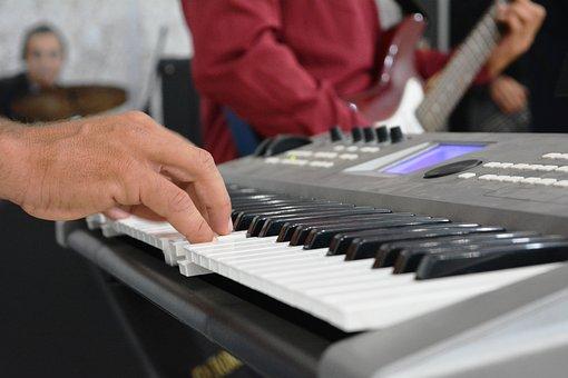Keyboard, Music, Fingers, Hand, Keys, Sound, Instrument