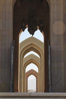 Sultan Qaboos Grand Mosque, Oman, Architecture