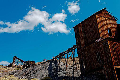 Leave, Mine, Ghost Town, Berlin, Nevada, America, Usa