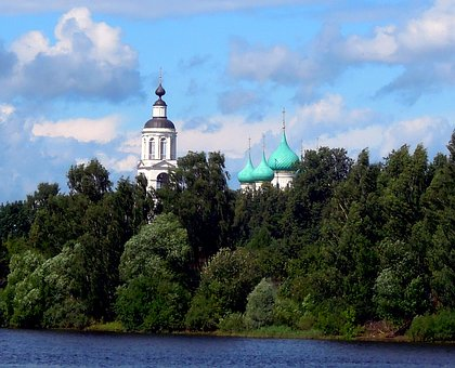 Tolgskiy, The Monastery Church, Temple, Christianity