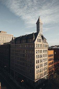 Architecture, Buildings, City, Landscape, Office