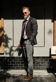 Beard, Business, Confidence, Corporate, Courage