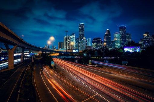 Houston Texas, City, Urban, Skyline, Downtown