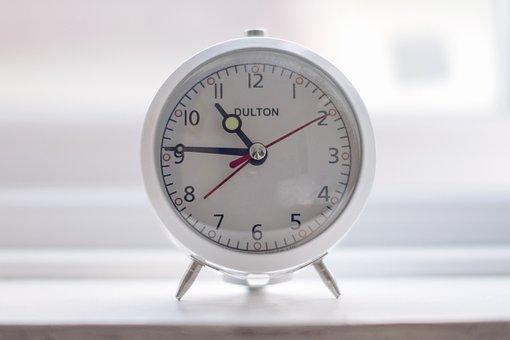 Still, Items, Things, Clocks, Desk, Alarm, Dulton