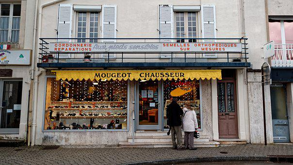 Business, Langres, France, Downtown, City, Architecture