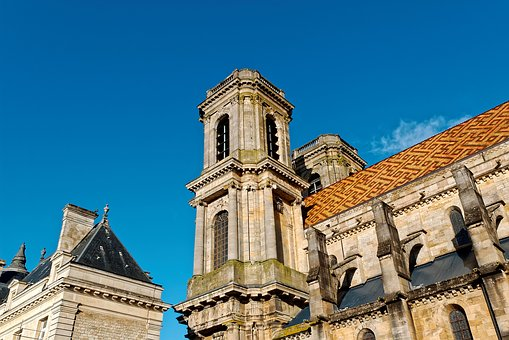 Cathedral, Inside, Langres, France, Gothic, Old