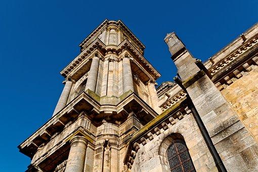 Cathedral, Inside, Langres, France, Gothic, Old