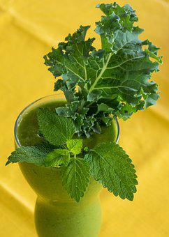 Green Smoothie, Smoothie, Kale, Green, Healthy, Food