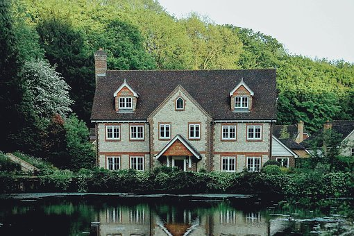 House, Home, Mansion, Residence, Neighborhood