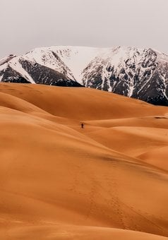 Great Sand Dunes, National Park, Tourism, Mountains