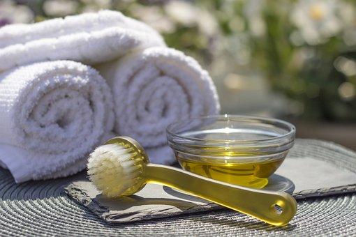 Spa, Salon, Resort, Oil, Massage, Brush, Pleasure, Body