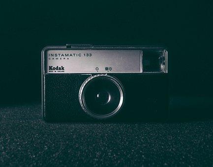 Camera, Vintage, Lens, Kodak, Instamatic, Photography