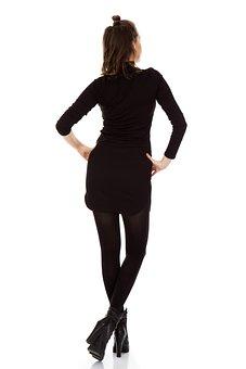 Women's, Clothes, Rear, Back, Design, Girl, Model