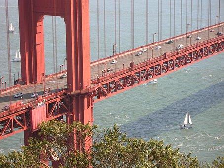 San Francisco, California, Golden Gate Bridge, Usa
