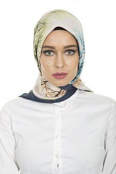 Hijab, Head Cover, Hair, Scarf, Women's, Long Hair