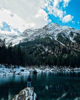 Nature, Mountains, Landscape, Summit, Peaks, Snow