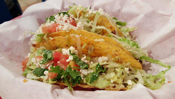 Taco, Mexican Food, Food, Mexican, Dinner, Lettuce