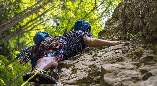 Climbing, Climber, Sport