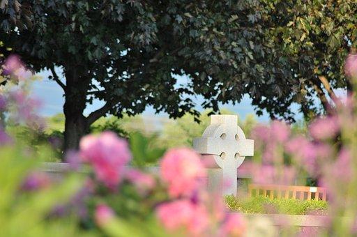 Faith, Cross, Garden, Church, Victory, Memorial