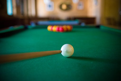 Billiards, Bar, Green, Bowls, Play, Cane, Red, Yellow