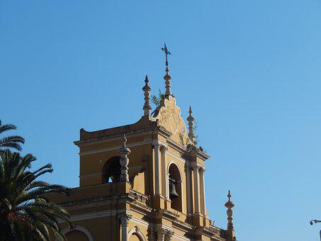 Church, Old, Bell Tower, Architecture