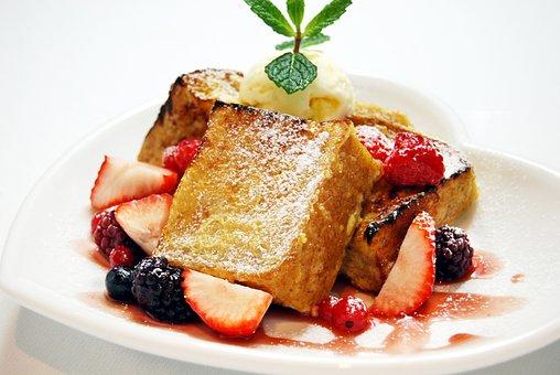 Cake, Strawberry, Blueberry, Dessert, Food, Sweet