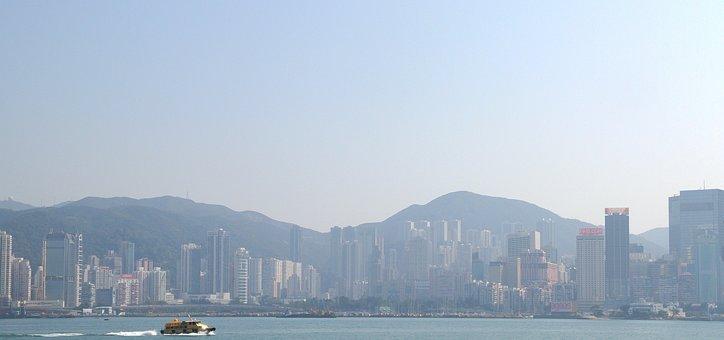 Hong Kong, Skyline, Cityscape, Hong Kong Skyline, City