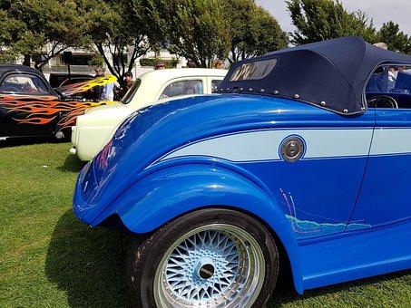 Custom Car, Classic Car, Vintage, Retro, Auto, Old