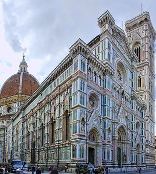Italy, Duomo, Europe, Florence, Cathedral, Architecture