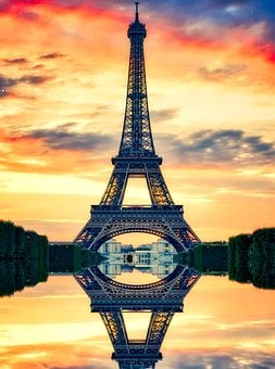 Eiffel Tower, Paris, France, Landmark, Historic