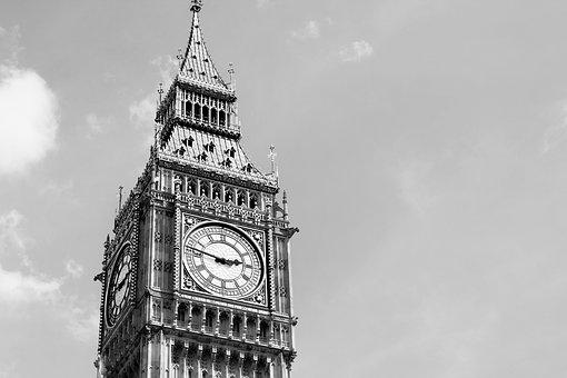 London, Big Ben, England, Clock, Big, Ben, Tower