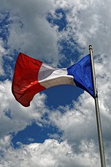 France, Flag, Blue, White, Red, France Flag