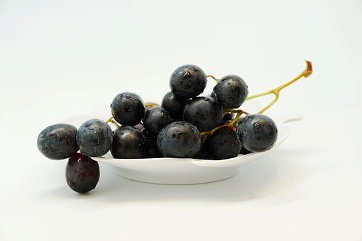Grape, Fruit, Table Grapes, Fruits, Blue, Healthy, Food