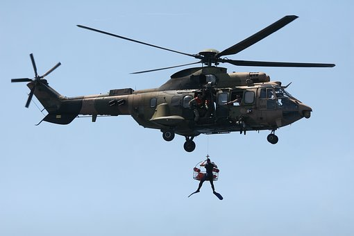 Search, Recovery, Helicopter, Soldier, Military