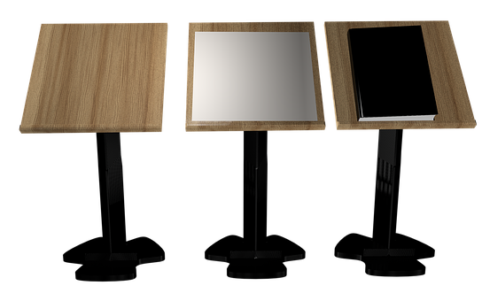 Desk, Png, Isolated, Board, Lectern, File