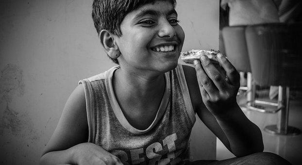 Kid, Portrait, Child, Happy, Childhood, Fun, Happiness