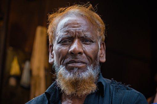Man, Portrait, Colorful, People, Male, Adult, Face
