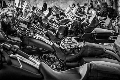 Motorcycle, Harley, Harley Davidson, Bike, Motor, Ride
