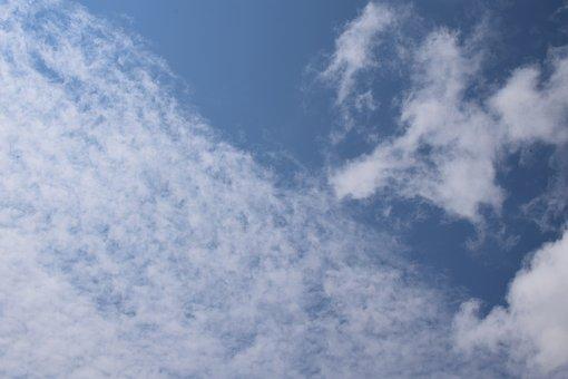 Wispy Clouds, Cloudscape, Skyscape, Nature, Clouds
